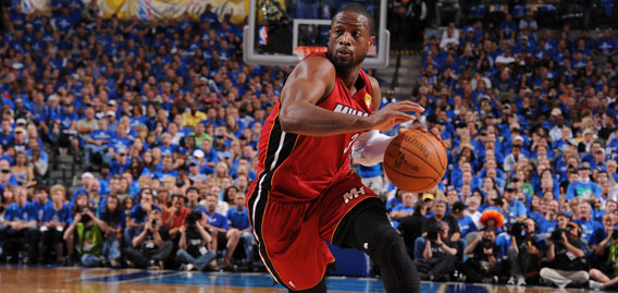 Dwyane Wade should enjoy the Finals, Horry says. (NBAE/Getty)