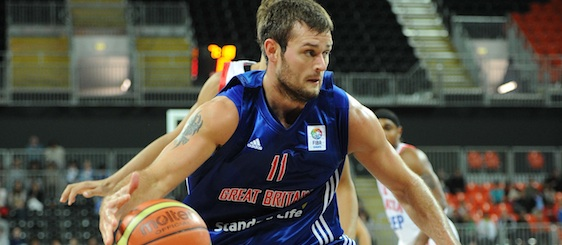 Great Britain v Croatia: Joel Freeland 568