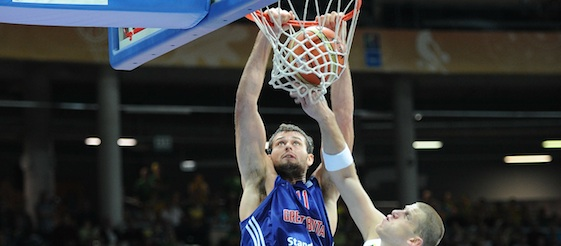 Great Britain v Lithuania: Joel freeland 568