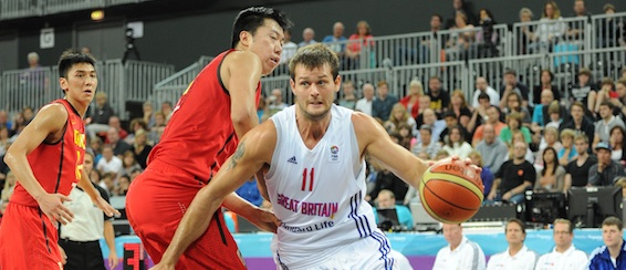 Great Britain v China - Joel Freeland 568