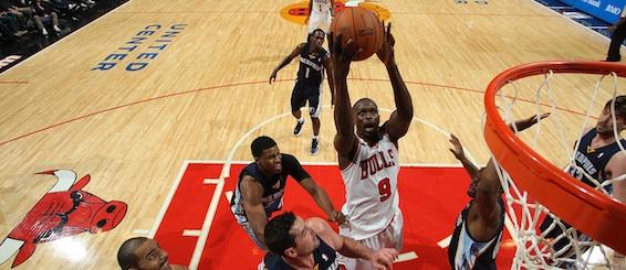 Luol Deng 568 Memphis Grizzlies v Chicago Bulls