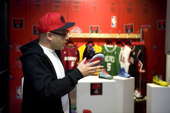 Sneaker expert Kish Kash loves his Jordans