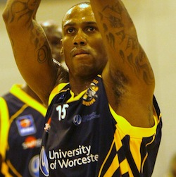 Alex Owumi had a game-high 24 points for Wrcester