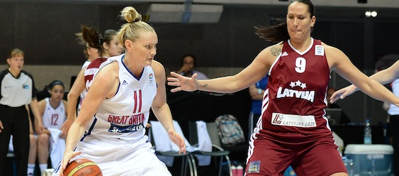 Great Britain v Latvia