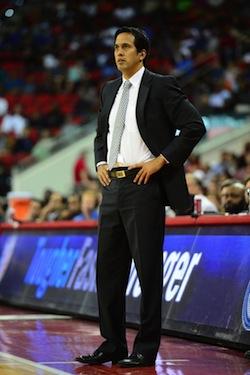 Erik Spoelstra - Miami Heat - October 23, 2012