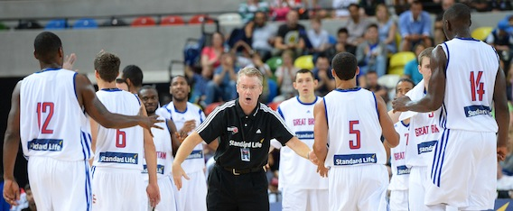 1. Standard Life GB head coach, Joe Prunty