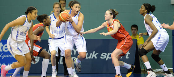 GB WOMEN V MACEDONIA