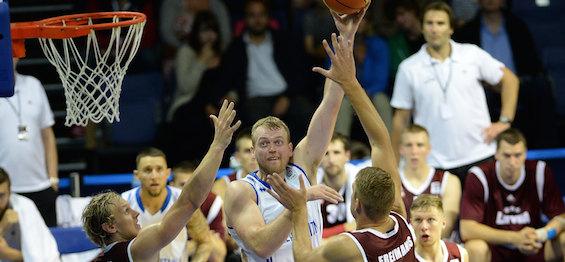 Dan Clark : GB v Latvia