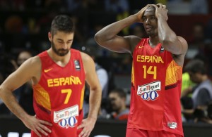 ibaka despair world cup spain