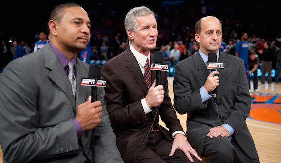 2010 -- Mark Jackson, Mike Breen and Jeff Van Gundy