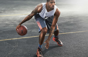 paul george nike dribble