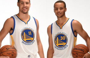 golden state warriors klay thompson steph curry