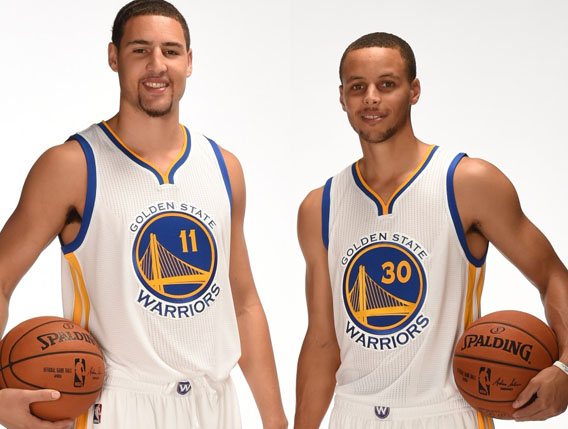 seth curry and klay thompson brothers bing images