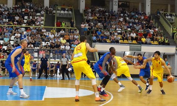 Macedonia v GB