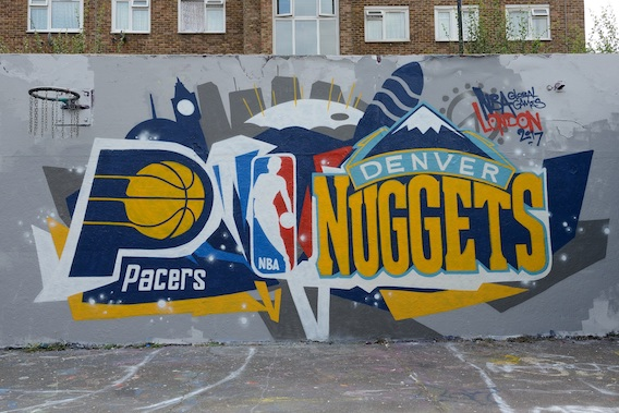 Pacers Nuggets NBA London