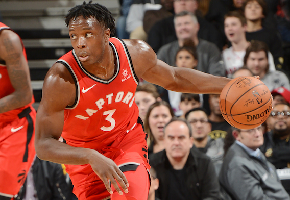 Toronto Raptors  rookie OG Anunoby tells us about growing up in London –  and more. dfe8134b4